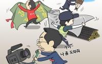 [딴지만평]세월호 보도, 오직, 가리기에 바쁘다