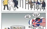 [딴지만평]조중동물원