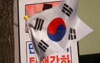 [현장]탄핵 최종변론일 헌법재판소 풍경 : 박근혜 단체의 난장