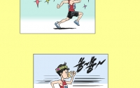 [딴지만평]검찰 포토라인을 향한 질주: 비타500 신공