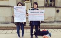 [국제]파리의 백남기 농민 쾌유 기원 1인 시위 : 그녀는 왜 광장에 섰나