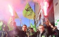 [국제]이제는 파업 한류 시대 - 프랑스 철도노조 쉬드하이(Sud Rail) 연대집회