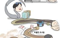 [딴지만평]한국, '가늘고 긴 것들'의 나라
