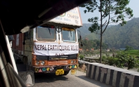 [국제]네팔 지진: 산골 피해마을 쌀 배달 여정